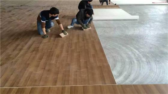 某早教机构铺设PVC塑胶地板