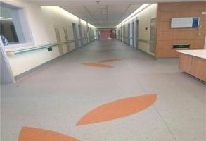 某医院铺设专用PVC万博manbetx网站