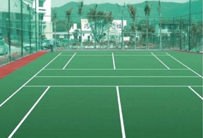 巴南网球场地板